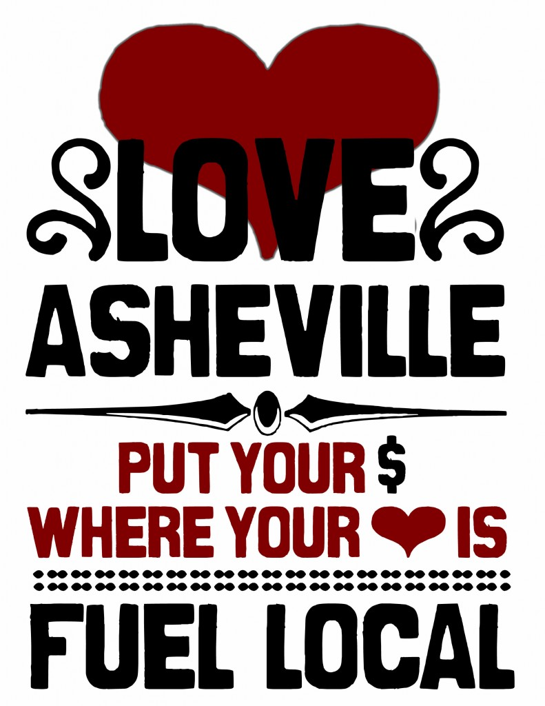 Love Asheville Fuel Local