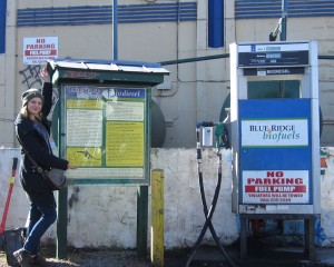 Biodiesel gas pump