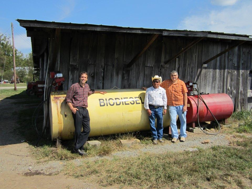Farm biodiesel tank
