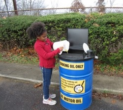 Residential cooking oil recycling