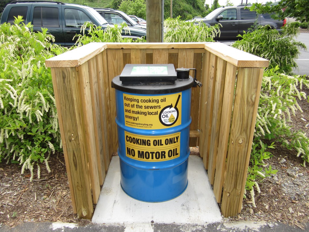 New Ways to Recycle Used Cooking Oil