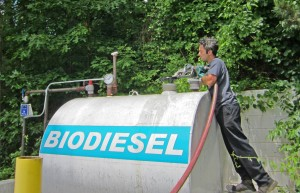 Last year, we produced almost 400,000 gallons of biodiesel and we're planning to ramp that up to 3 million gallons per year!
